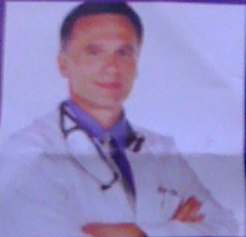 Stock Image of an American doctor