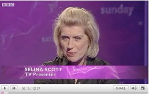 Selina Scott talking on This week (click to watch)
